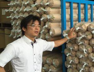 宇陀化成工業㈱・代表取締役社長 栗林 浩二氏